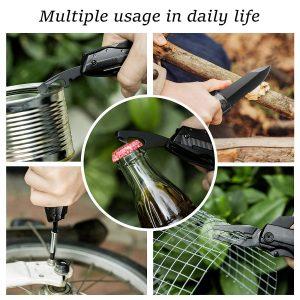 couteau multifonction de survie
